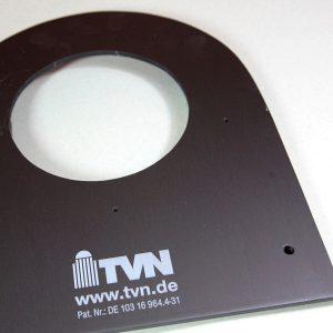 Aluminiumschilder mit Kennzeichnung