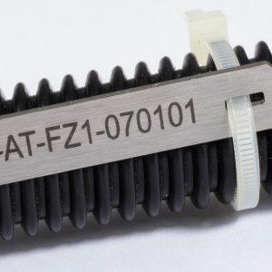 Edelstahl Kabelmarkierung