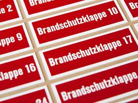 Kunststoffschilder Brandmelderkennzeichnung